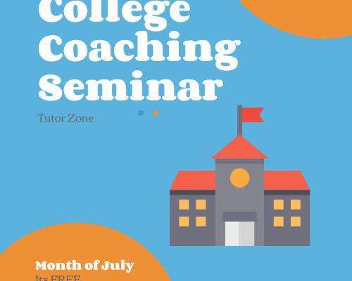 Free College Coaching Seminar