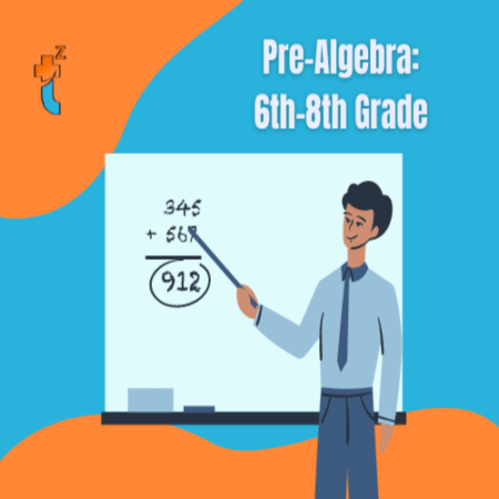 Cover image for pre algebra course