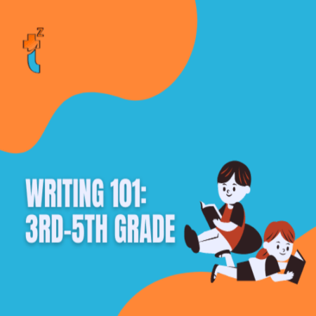 cover image for writing 101 3rd-5th grade class