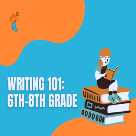 Cover image for writing 101 6th-8th grade class
