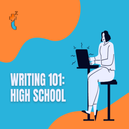 cover image for writing 101 High School class